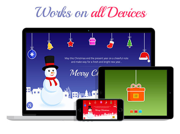 Christmas Greeting Card Devices