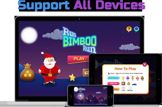 Run Bimboo Run - An HTML5 Game