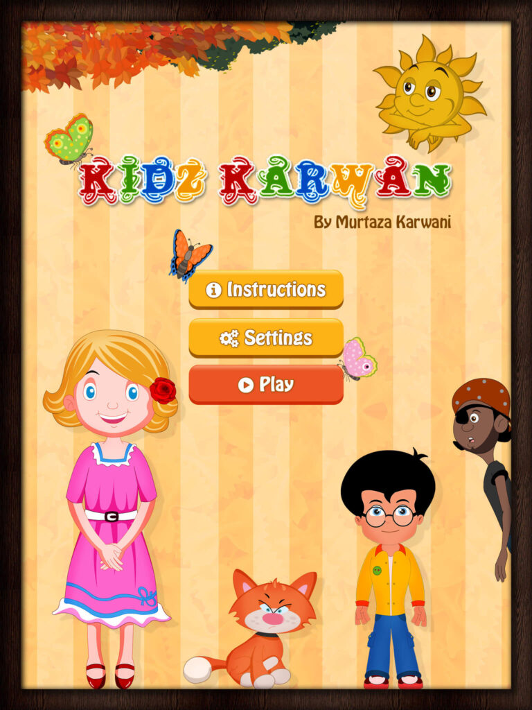 Kids Karwan UI