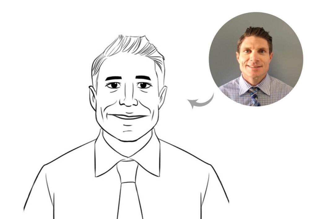 Email Signature Caricature