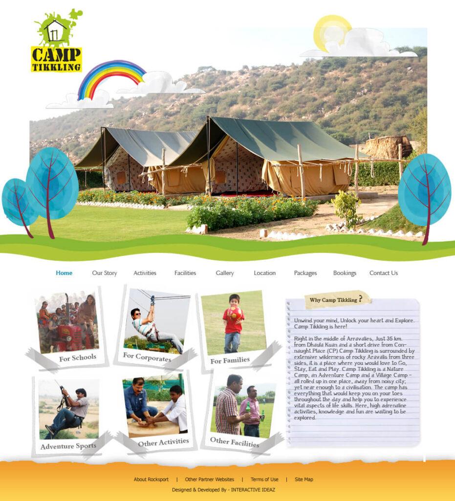 Camp Tikkling Web Page