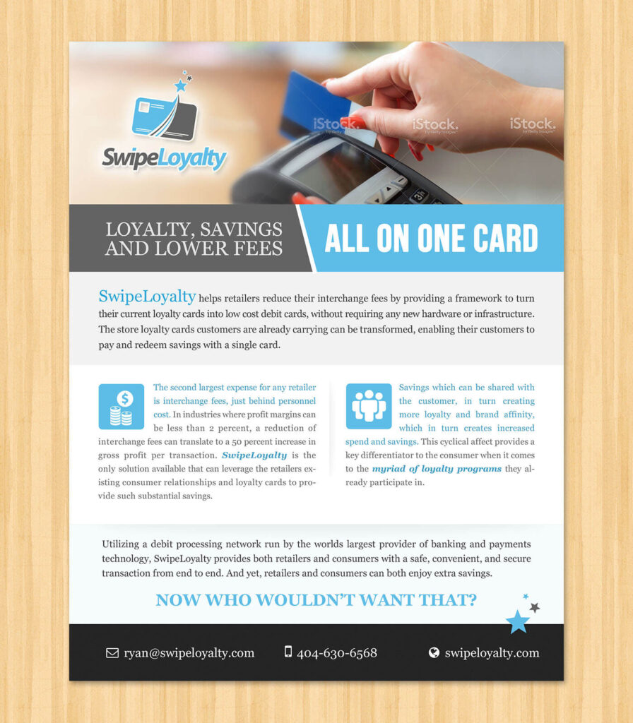 Swipe Loyalty Flyer