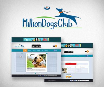 MillionDogsClub Custom App