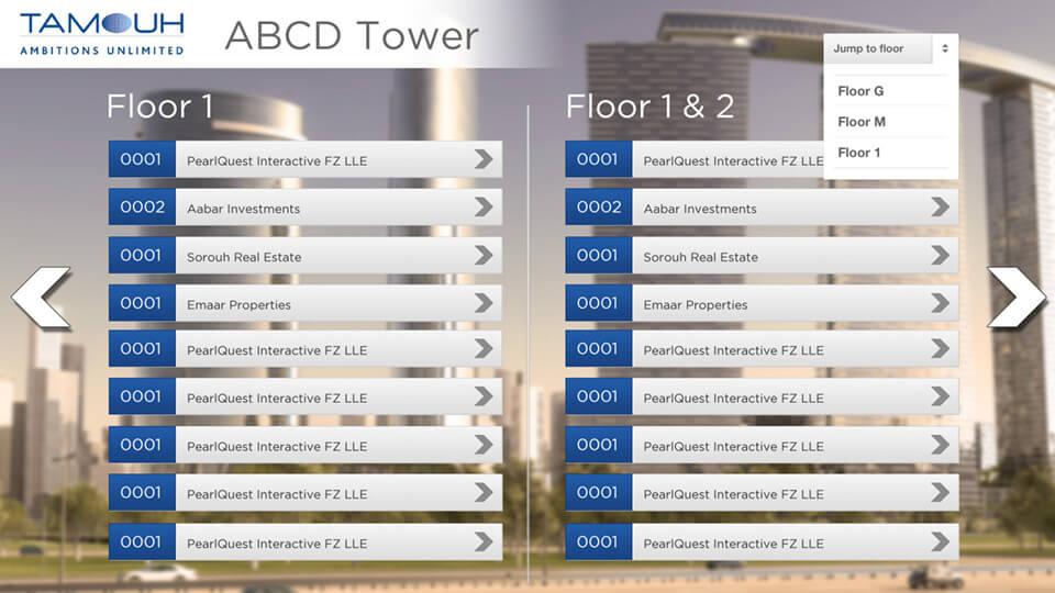 Building Directory App